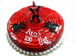 Torte me zbukurim Spiderman