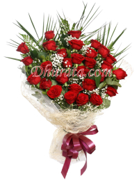 Bouquet with 30 red roses