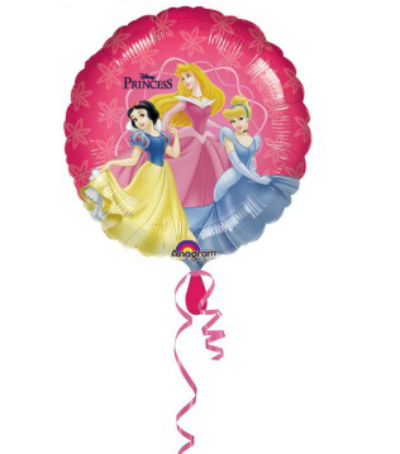 Foil paper Balloon - Princesses
