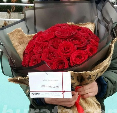 Bouquet of 30 Red roses