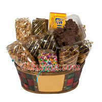 Dried fruit basket