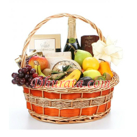 Happy New Years Gift Basket