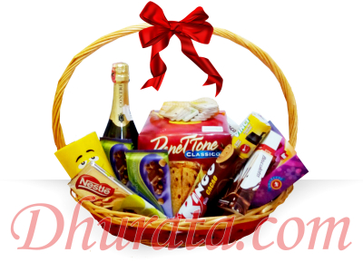 Basket of Vienese Cake