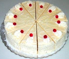 Torte Bajame Dhe Kokos From Torta Tirane
