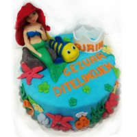 The mermaid cake