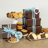 Cookie Gift Boxes - Deluxe Plus Gift Tower - 4 Boxes
