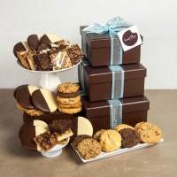 Cookie Gift Boxes - Deluxe Tower - 3 Boxes